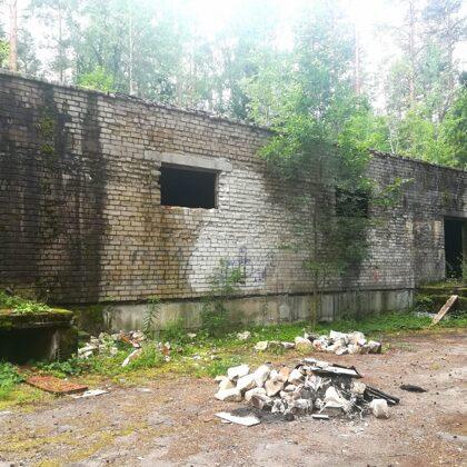 Kādreizējā Latvijas policijas akadēmijas vasaras nometne Garkalnē